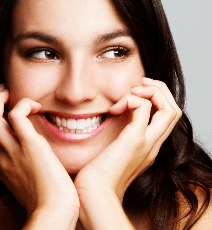 smiling woman for signup